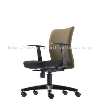 ERGO EXECUTIVE LOW BACK CHAIR WITH POLYPROPYLENE BASE ER382F