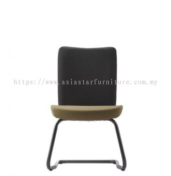 ERGO EXECUTIVE VISITOR BACK CHAIR WITHOUT ARMREST WITH EPOXY BLACK CANTILEVER WITHOUT ARMREST ER384F