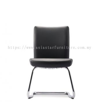 ERGO EXECUTIVE VISITOR CHAIR WITHOUT ARMREST C/W CHROME CANTILEVER BASE WITHOUT ARMREST ER384L