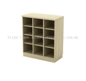Q-YP 9 PIGEON HOLE LOW CABINET