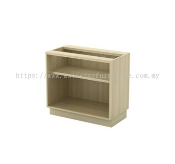 Q-YO 872 OPEN SHELF LOW CABINET W/O TOP