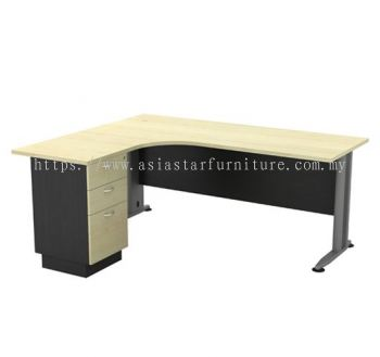 TL 1515-3D SUPERIOR COMPACT TABLE WITH METAL MODESTY PANEL