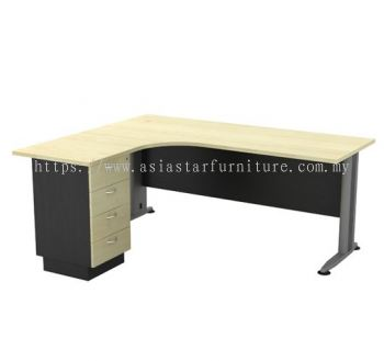 TL 1515-4D SUPERIOR COMPACT TABLE WITH METAL MODESTY PANEL
