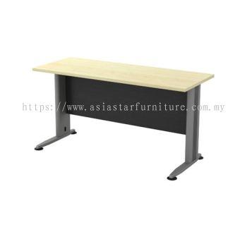 RECTANGULAR WRITING TABLE METAL J-LEG (W/O TEL CAP) TT 126