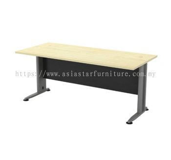 RECTANGULAR WRITING TABLE METAL J-LEG TT 128