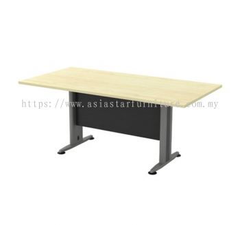 TVE 18 RECTANGULAR MEETING TABLE WITH METAL MODESTY PANEL