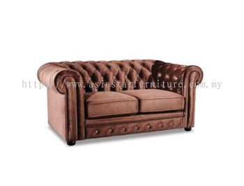 ELEGANT FABRIC TWO SEATER SOFA