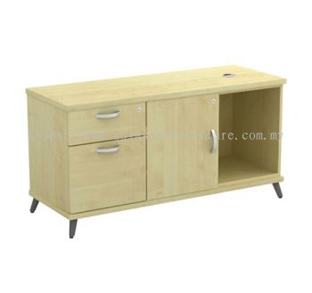 SIDE CABINET C/W OPEN SHELF + SWINGING DOOR (L) + FIXED PEDESTAL 1D1F Q-YLP 1226
