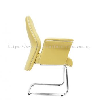 WIGAN DIRECTOR VISITOR CHAIR C/W CHROME CANTILEVER BASE