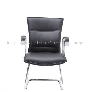 HALLFAX DIRECTOR VISITOR CHAIR C/W CHROME CANTILEVER BASE