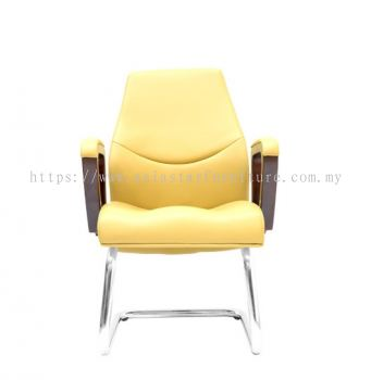 AMBER DIRECTOR VISITOR CHAIR C/W CHROME CANTILEVER BASE