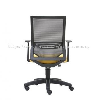 CARLTON MEDIUM BACK MESH CHAIR C/W POLYPROPYLENE BASE
