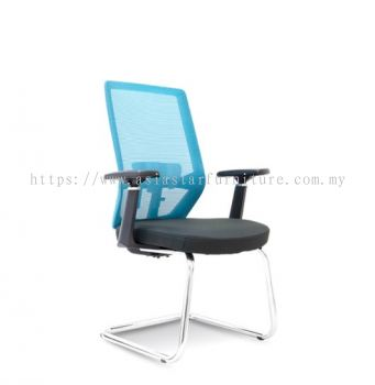 HOUSTON VISITOR MESH BACK CHAIR C/W CHROME CANTILEVER BASE