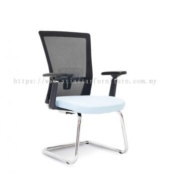 DANVER VISITOR MESH BACK CHAIR C/W CHROME CANTILEVER BASE