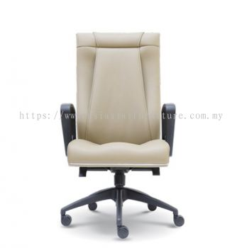 HARPERS EXECUTIVE HIGH BACK CHAIR C/W ROCKET NYLON BASE