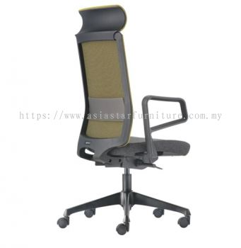 SURFACE HIGH BACK SOFTECH CHAIR C/W ROCKET NYLON BASE ASF 8410F