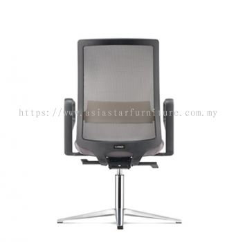 SURFACE VISITOR MESH BACK CHAIR C/W 4 PRONGED ALUMINIUM BASE (FABRIC) ASF 8414N
