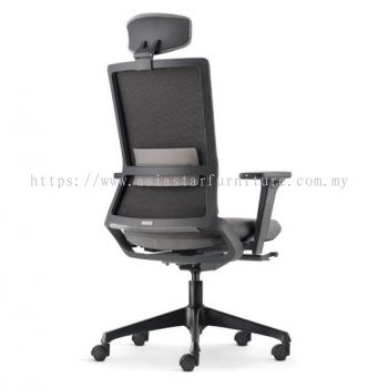 ROYSES HIGH BACK SOFTECH CHAIR C/W NYLON ROCKET BASE ARC 8510F