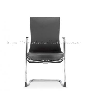 ROYSES VISITOR PU BACK CHAIR C/W CHROME CANTILEVER BASE ARC 8513P