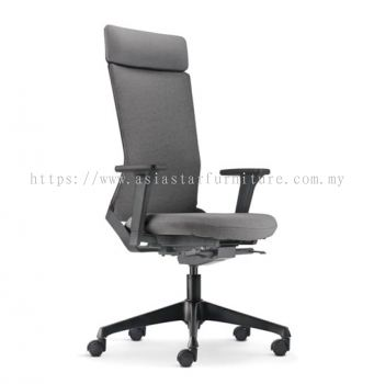 ROYSES HIGH BACK SOFTECH CHAIR C/W NYLON ROCKET BASE  ARC 8520F