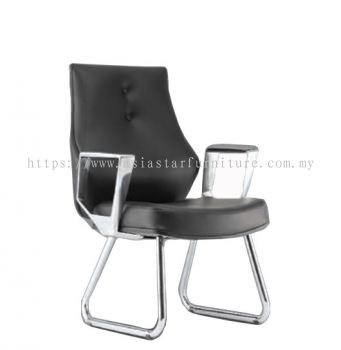 BEGONIA DIRECTOR VISITOR BACK CHAIR C/W CHROME CANTILEVER BASE