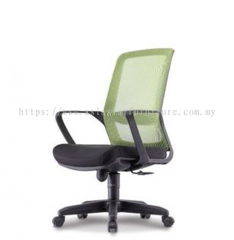 FREESIA 1 MEDIUM BACK MESH CHAIR C/W POLYPROPYLENE BASE