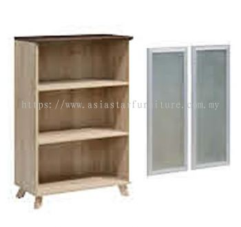MEDIUM CABINET GLASS DOOR WITH ALUMINIUM FRAME PIX 1275GD