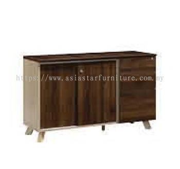 MOBILE PEDESTAL 2D1F + SLIDING DOOR LOW CABINET PXI SC1245