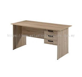 WRITING TABLE C/W RIGHT FIXED PEDESTAL AMP1 1570