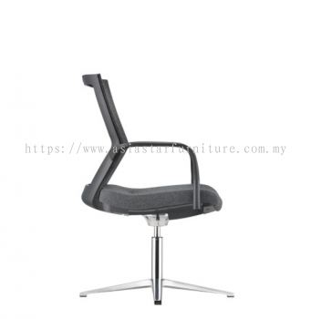MAXIM VISITOR BACK SOFTECH CHAIR C/W 4 PRONGED BASE AMX 8114F