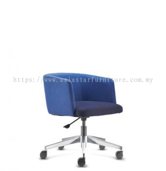 ANTHOM EXECUTIVE LOW BACK CHAIR C/W ALUMINIUM BASE AT6632F-16