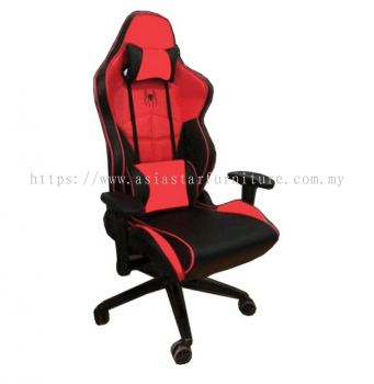 SPIDERMAN GAMING HIGH BACK CHAIR C/W METAL BASE