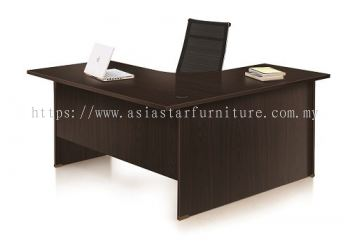 EXTON 6' L SHAPE TABLE | STUDY TABLE | COMPUTER TABLE - L shape table SS2 PJ | L shape table PJ Uptown | L shape table Taman Mayang