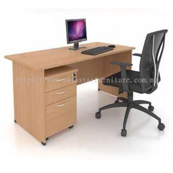 FOBIS 6' OFFICE TABLE | STUDY TABLE | COMPUTER TABLE - office table Kepong | office table Selayang| office table Batu Caves