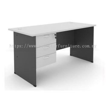 6' Office Table/desk | Study Table | Computer Table c/w Hanging Drawer - study/office table Kajang | study/office table Semenyih | study/office table Bangi