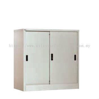 A111 HALF HIGH STEEL SLIDING DOOR CUPBOARD