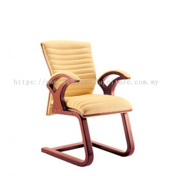 VIO ll WOODEN VISITOR CHAIR C/W WOODEN TRIMMING LINE ACL 9055