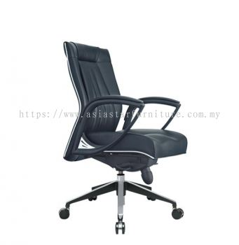 TESSA II LOW BACK CHAIR C/W CHROME TRIMMING LINE ACL 8066