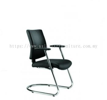 BRABUSS VISITOR CHAIR C/W CHROME CANTILEVER BASE BR-4L