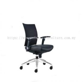 INCLUDE LOW BACK CHAIR WITH ALUMINIUM BASE ID392L