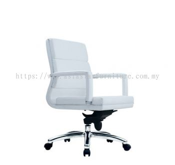 KENT LOW BACK CHAIR WITH CHROME TRIMMING LINE ACL 7022