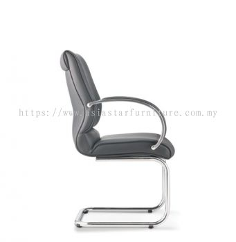 KLAIR EXECUTIVE VISITOR CHAIR WITH CHROME CANTILEVER BASE KL-4L