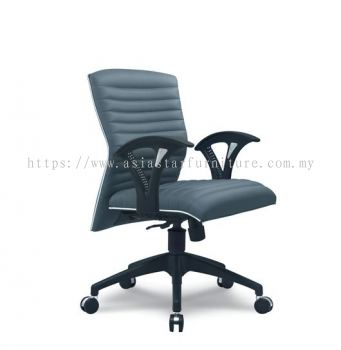 VIO III LOW BACK CHAIR WITH CHROME TRIMMING LINE ACL 644
