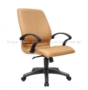 BONZER MEDIUM BACK CHAIR WITH POLYPROPYLENE BASE ACL 6001