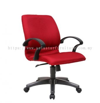 BONZER LOW BACK CHAIR WITH POLYPROPYLENE BASE ACL 6002