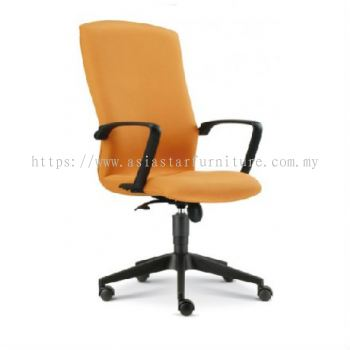 FIGHTER HIGH BACK CHAIR WITH ROCKET NYLON BASE FT1