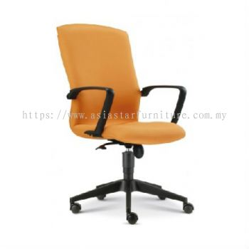 FIGHTER MEDIUM BACK CHAIR WITH ROCKET NYLON BASE FT2