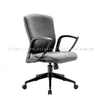 KENO LOW BACK CHAIR WITH NYLON ROCKET BASE ACL 883