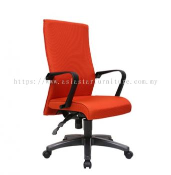 SENSE MEDIUM BACK CHAIR WITH POLYPROPYLENE BASE ACL 5100