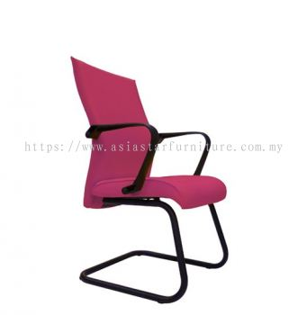 SENSE VISITOR CHAIR WITH EPOXY BLACK CANTILEVER BASE ACL 5400